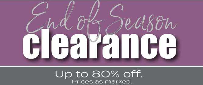 Homepage Banner Slot 3 - Clearance