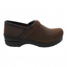* PROFESSIONAL CLOG ANTIQUE BROWN OILED