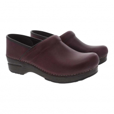 * PROFESSIONAL CLOG PLUM OILED