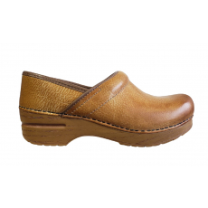 * PROFESSIONAL CLOG HONEY DISTRESSED (WIDE WIDTH)