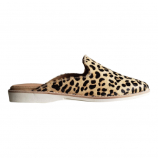 * MADISON MULE CAMEL LEOPARD