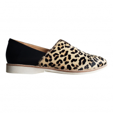 * MADISON V CUT CAMEL LEOPARD