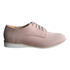 * DERBY SNOW PINK NUBUCK